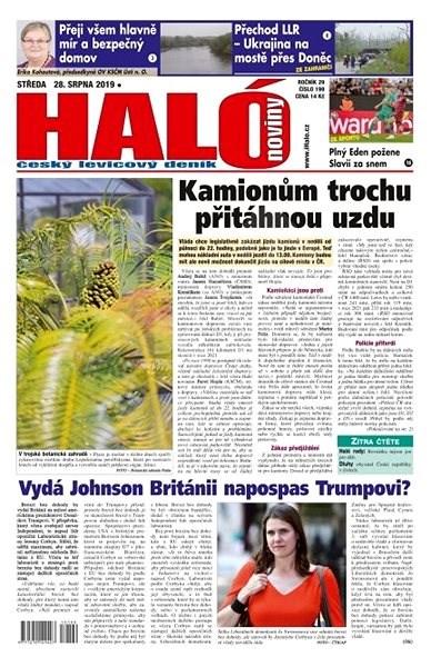 Haló noviny - 28_08_2019 - Elektronické noviny