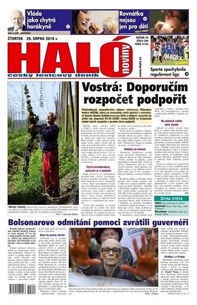 Haló noviny - 29_08_2019 - Elektronické noviny