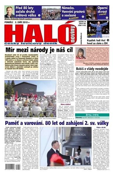Haló noviny - 02_09_2019 - Elektronické noviny