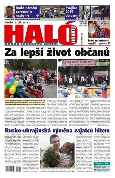 Haló noviny - 09_09_2019 - Elektronické noviny