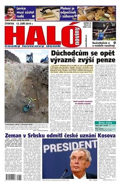 Haló noviny - 12_09_2019 - Elektronické noviny