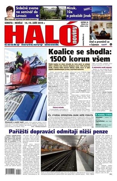Haló noviny - 14_09_2019 - Elektronické noviny
