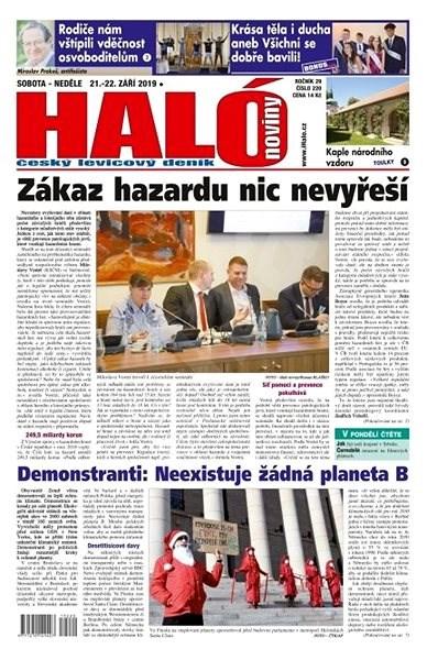 Haló noviny - 21_09_2019 - Elektronické noviny