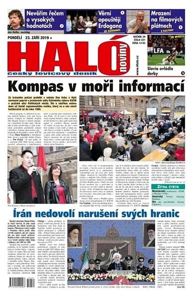 Haló noviny - 23_09_2019 - Elektronické noviny