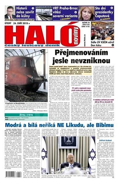 Haló noviny - 24_09_2019 - Elektronické noviny