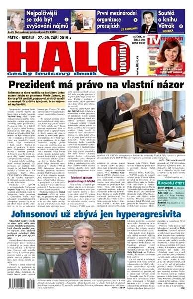 Haló noviny - 27_09_2019 - Elektronické noviny