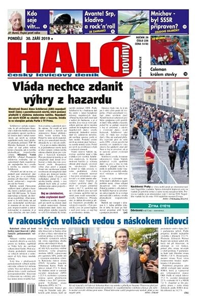 Haló noviny - 30_09_2019 - Elektronické noviny