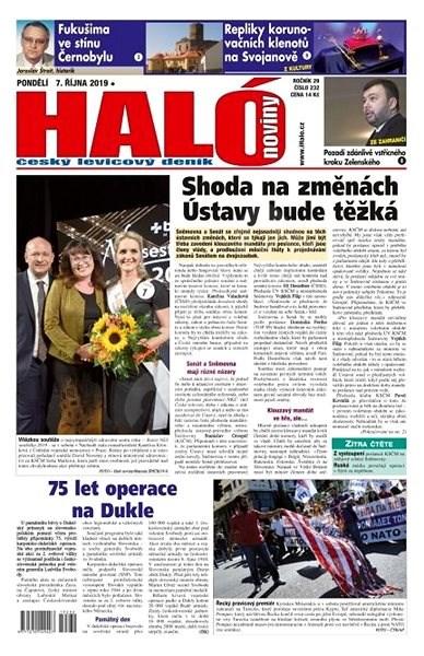 Haló noviny - 07_10_2019 - Elektronické noviny