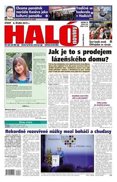 Haló noviny - 08_10_2019 - Elektronické noviny