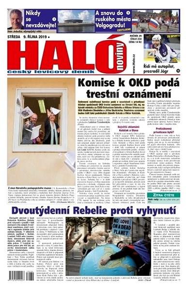 Haló noviny - 09_10_2019 - Elektronické noviny