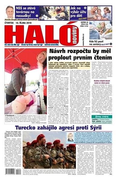 Haló noviny - 10_10_2019 - Elektronické noviny