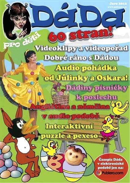 DÁDA pro děti - Jaro 2012 - Elektronický časopis