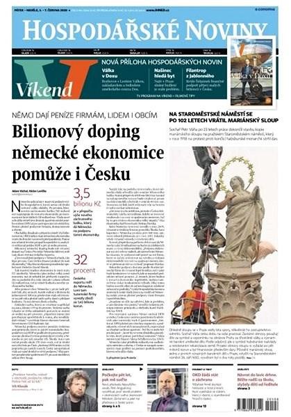 Hospodářské noviny - 05.06.2020 - Elektronické noviny