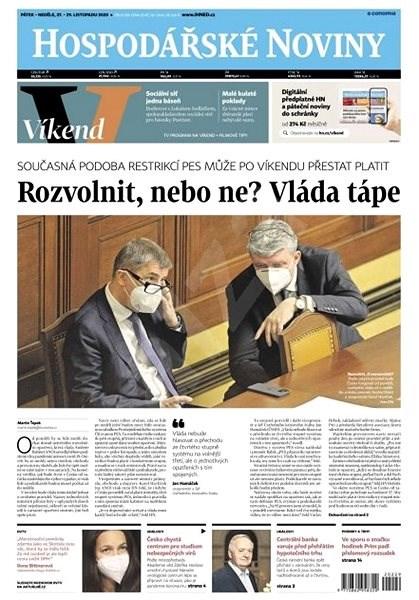 Hospodářské noviny - 27.11.2020 - Elektronické noviny