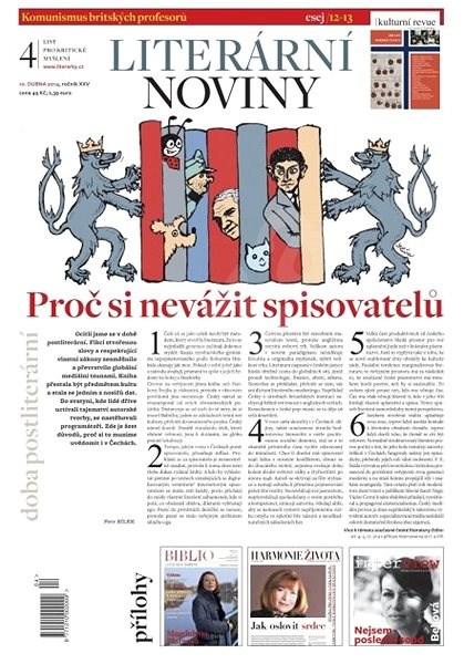 Literární noviny - 04/2014 - Elektronický časopis