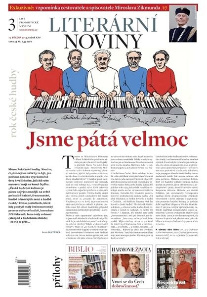 Literární noviny - 03/2014 - Elektronický časopis