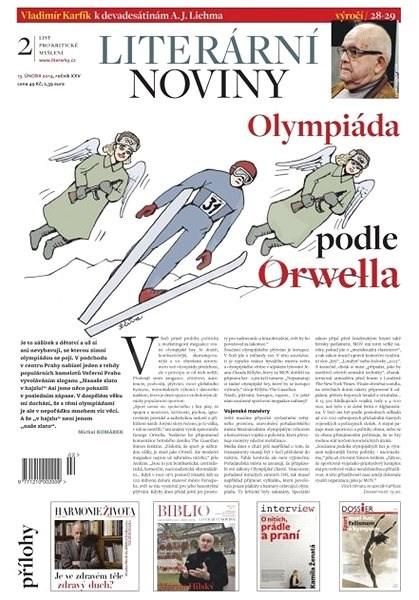 Literární noviny - 02/2014 - Elektronický časopis