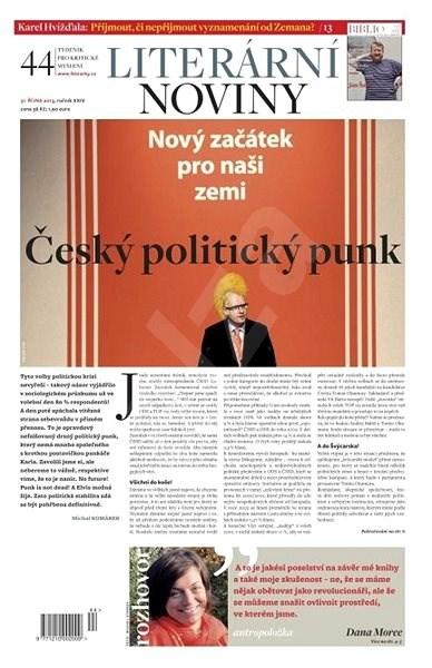 Literární noviny - 44/2013 - Elektronický časopis