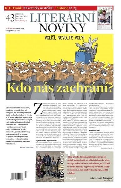 Literární noviny - 43/2013 - Elektronický časopis