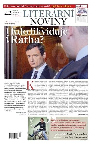 Literární noviny - 42/2013 - Elektronický časopis