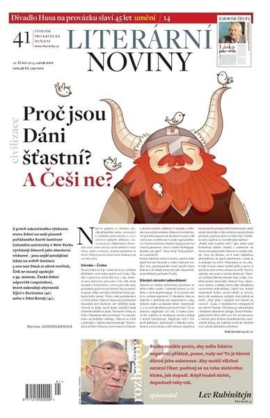 Literární noviny - 41/2013 - Elektronický časopis