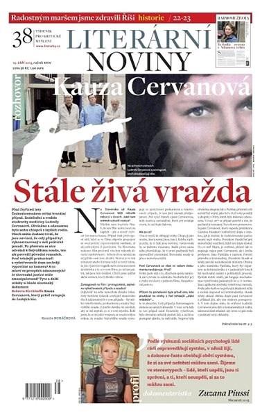 Literární noviny - 38/2013 - Elektronický časopis