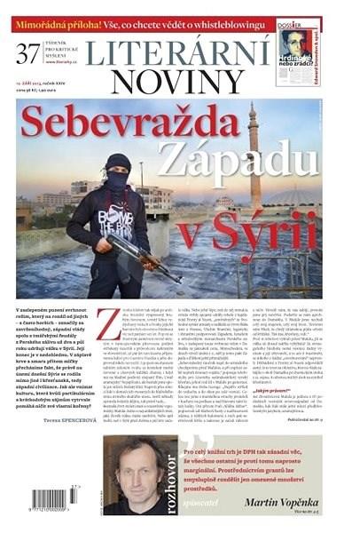 Literární noviny - 37/2013 - Elektronický časopis