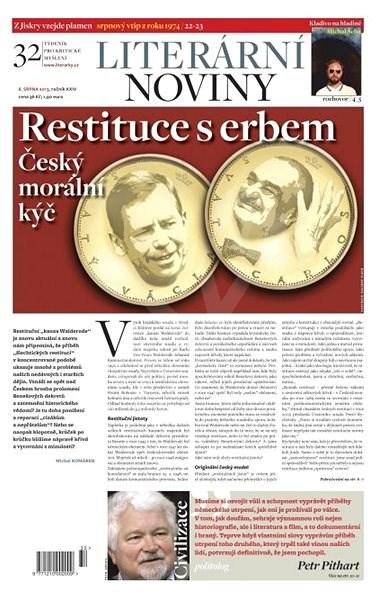Literární noviny - 32/2013 - Elektronický časopis