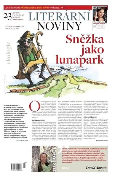 Literární noviny - 23/2013 - Elektronický časopis
