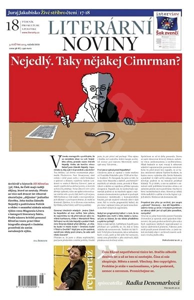 Literární noviny - 18/2013 - Elektronický časopis