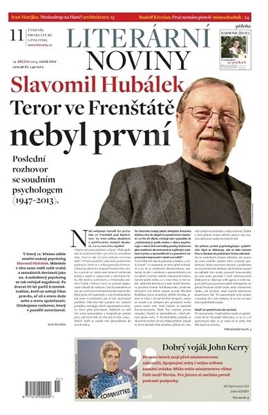 Literární noviny - 11/2013 - Elektronický časopis