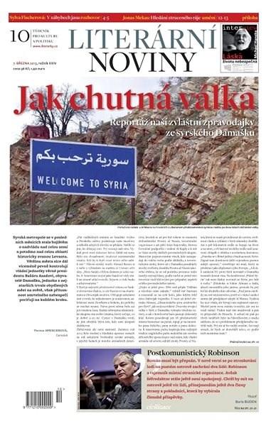 Literární noviny - 10/2013 - Elektronický časopis
