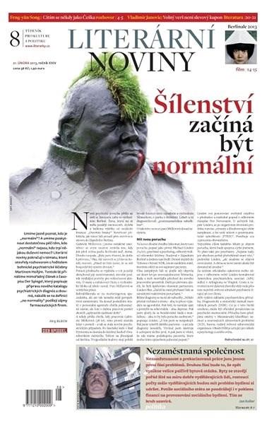 Literární noviny - 08/2013 - Elektronický časopis