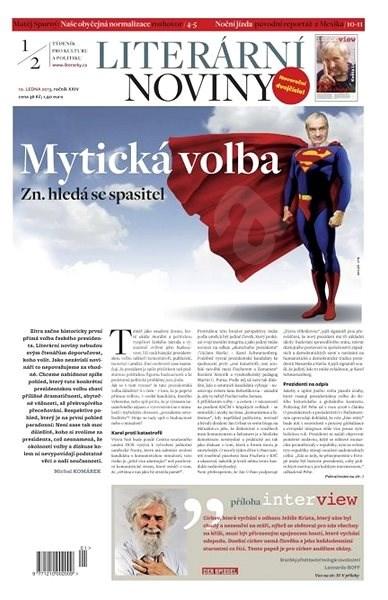 Literární noviny - 01-02/2013 - Elektronický časopis