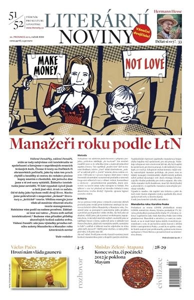 Literární noviny - 51-52/2012 - Elektronický časopis