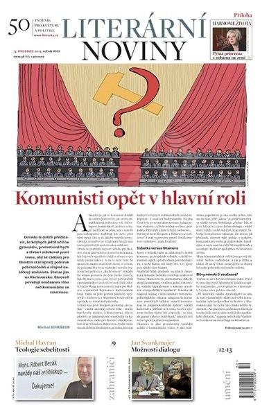 Literární noviny - 50/2012 - Elektronický časopis
