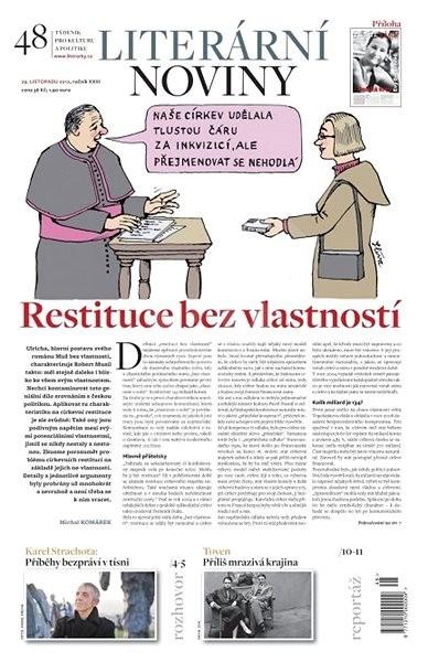 Literární noviny - 48/2012 - Elektronický časopis