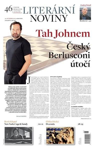 Literární noviny - 46/2012 - Elektronický časopis
