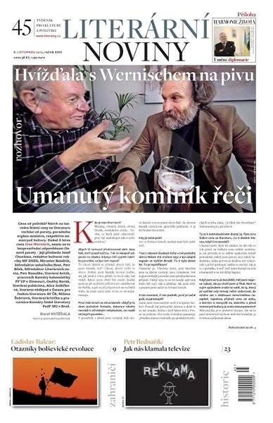 Literární noviny - 45/2012 - Elektronický časopis