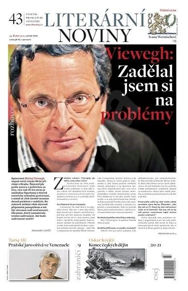 Literární noviny - 43/2012 - Elektronický časopis