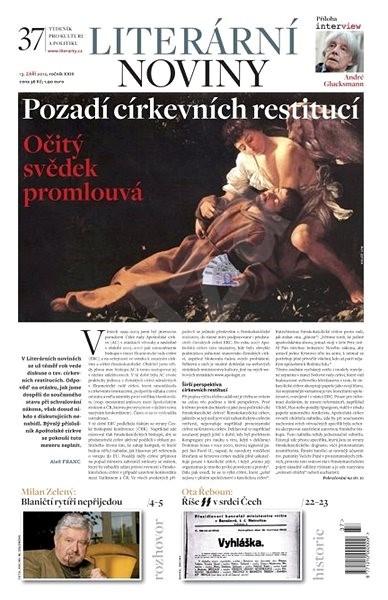 Literární noviny - 37/2012 - Elektronický časopis