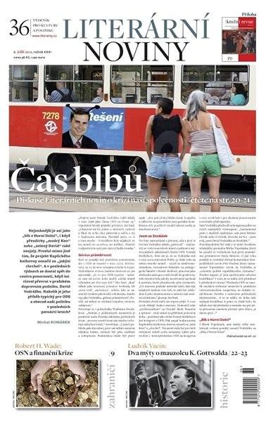 Literární noviny - 36/2012 - Elektronický časopis