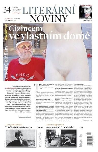 Literární noviny - 34/2012 - Elektronický časopis