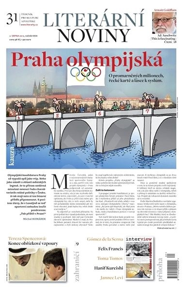 Literární noviny - 31/2012 - Elektronický časopis