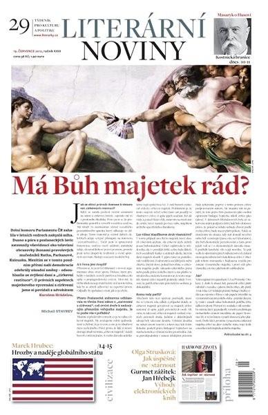 Literární noviny - 29/2012 - Elektronický časopis