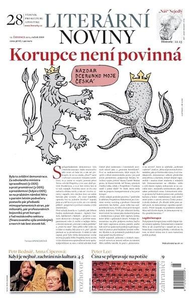 Literární noviny - 28/2012 - Elektronický časopis