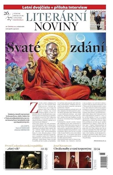 Literární noviny - 26-27/2012 - Elektronický časopis