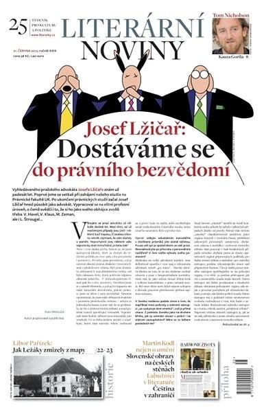 Literární noviny - 25/2012 - Elektronický časopis