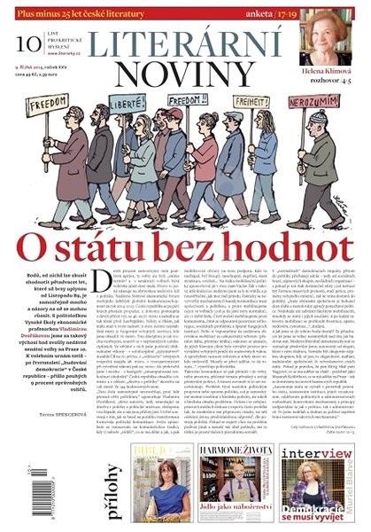 Literární noviny - 10/2014 - Elektronický časopis