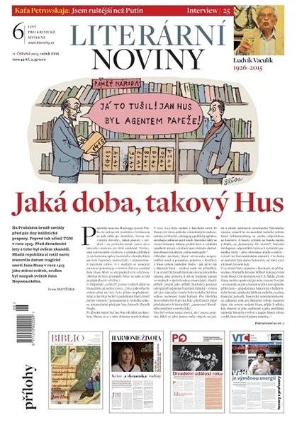 Literární noviny - 6/2015 - Elektronický časopis